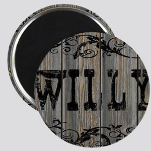 Willy, Western Themed Magnet