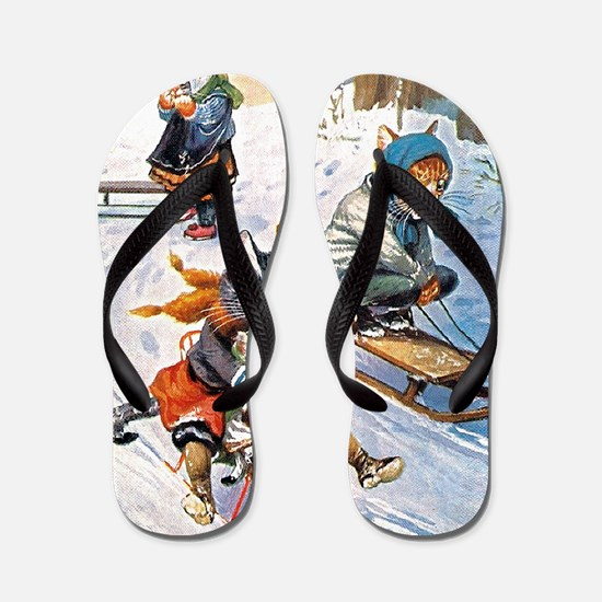 Thiele Cats Sled 2_SQ Flip Flops