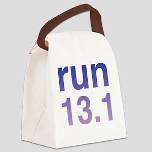 run13purple Canvas Lunch Bag