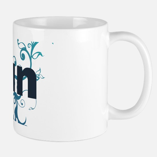 runblue_sticker Mug