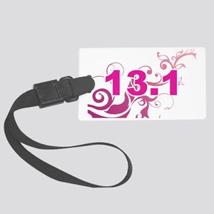 13.1_sticker_pink Large Luggage Tag