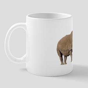 Northern White Rhinoceros Mug