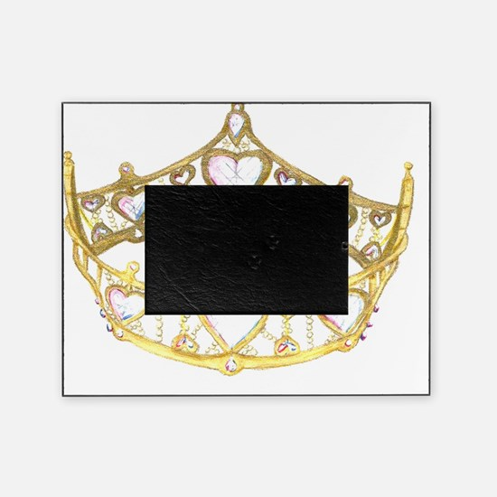 Queen Of Hearts Crown by Kristie Hub Picture Frame