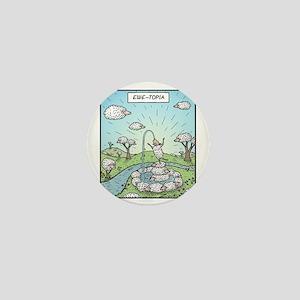 Ewe-topia Mini Button