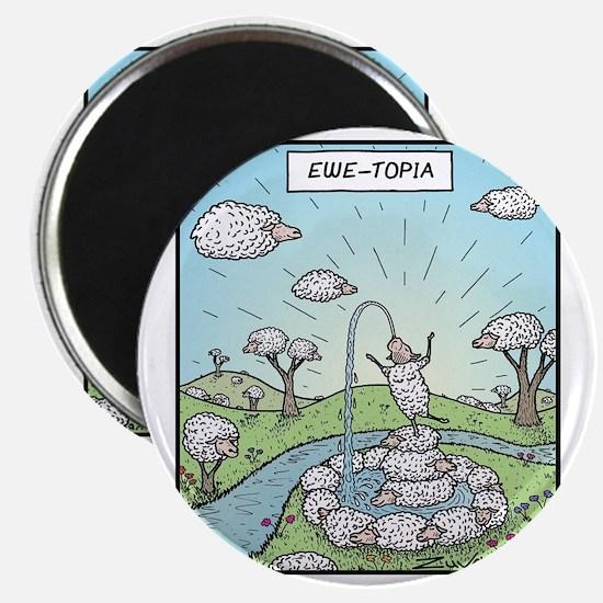 Ewe-topia Magnet