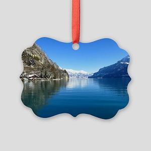 Swiss Alps Picture Ornament