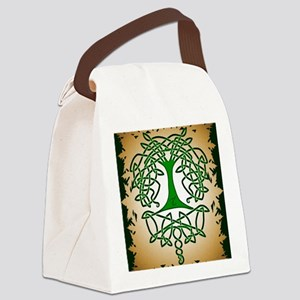 Celtic Tree of Life Canvas Lunch Bag