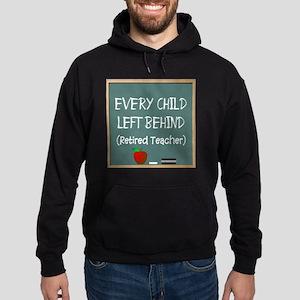 Retired Teacher Hoodie (dark)