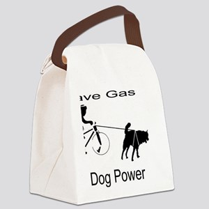 Save Gas! Canvas Lunch Bag