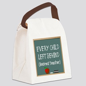 every child left behind 2 Canvas Lunch Bag