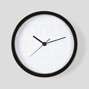 I am toned Wall Clock
