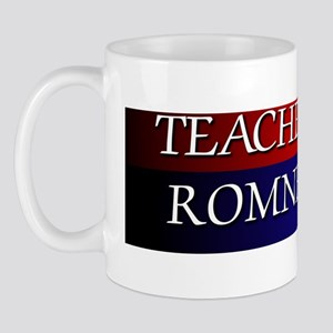 Teachers For Romney 2012 Mug