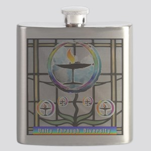 Unitarian 3 Flask