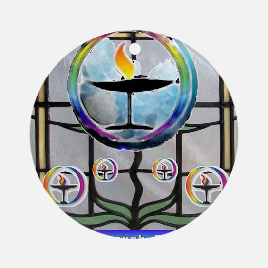 Unitarian 3 Round Ornament