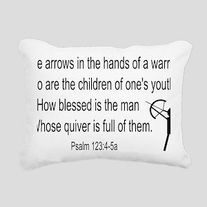 Archer for light Rectangular Canvas Pillow