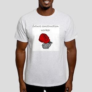 future construction worker Light T-Shirt