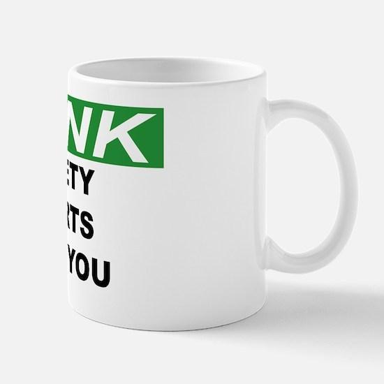 THINK-SAFETY-STARTS-WITH-YOU Mug
