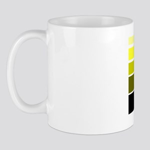 Break lines yellow/wht Mug