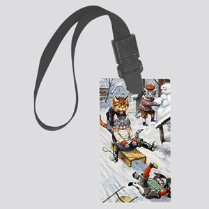 Thiele Cats Sled 5 Large Luggage Tag