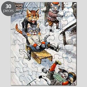Thiele Cats Sled 5 Puzzle