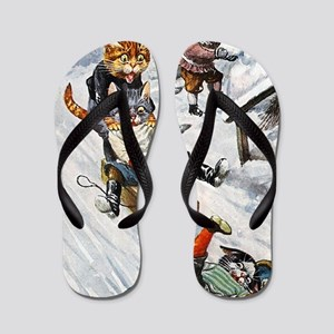 Thiele Cats Sled 5 Flip Flops
