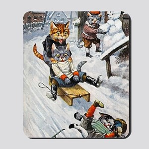 Thiele Cats Sled 5 Mousepad