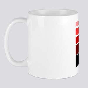 Break lines red/blk Mug