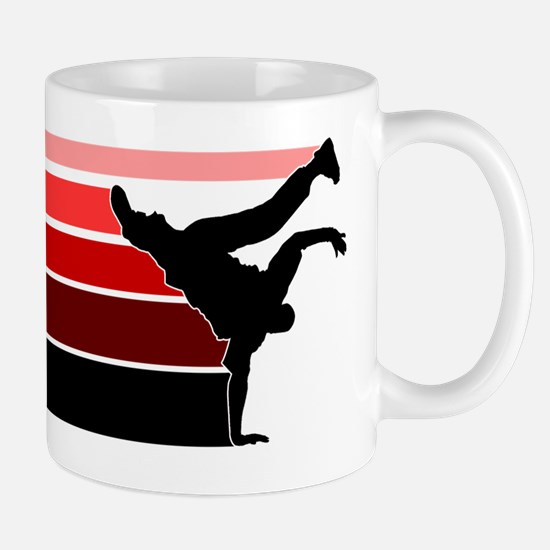 Break lines red/blk Mug