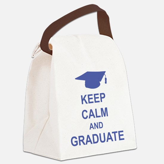calmGraduate1E Canvas Lunch Bag