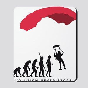 Evolution fallschirm B Mousepad