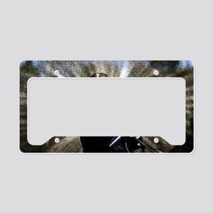 Civil War Sunburst License Plate Holder