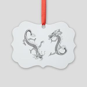 ttcdragonsColored Picture Ornament