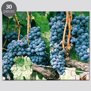 Wine Country Grapes Puzzle