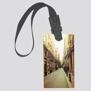 Streets of Spain Large Luggage Tag