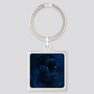 yellow eyes Square Keychain
