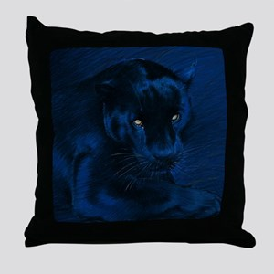 yellow eyes Throw Pillow