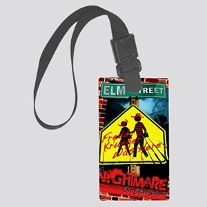 Freddy krueger poster 6 Large Luggage Tag