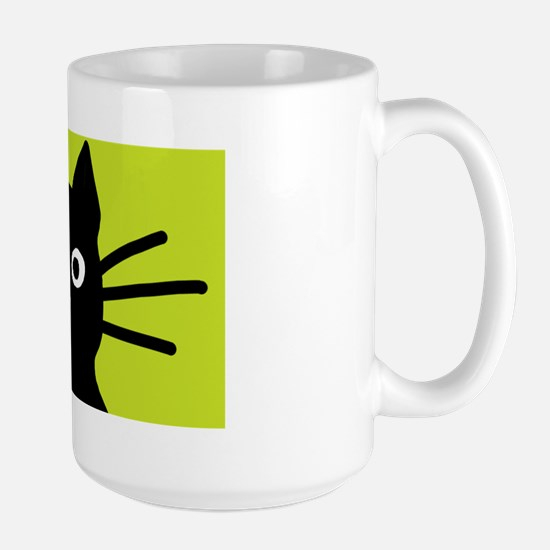 blackcatsquare Large Mug