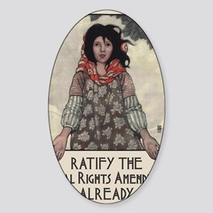 Ratify the ERA Sticker (Oval)