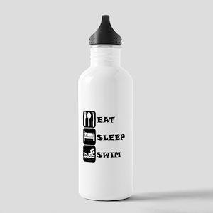 Eat Sleep Swim Water Bottle