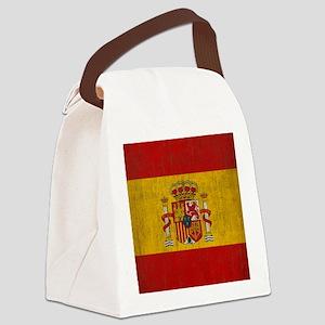spain_fl_SC2 Canvas Lunch Bag