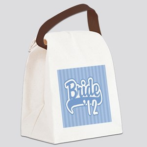 Baseball Blue Bride 2012 backgrou Canvas Lunch Bag