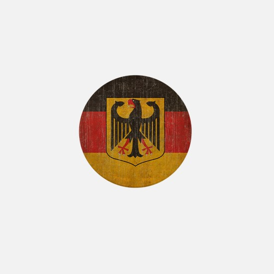 Vintage Germany Flag Mini Button