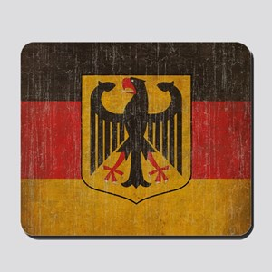 Vintage Germany Flag Mousepad