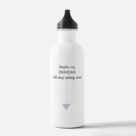 Surprise Grandma - Bab Water Bottle