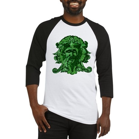 Green Man: Metamorphosis Baseball Jersey