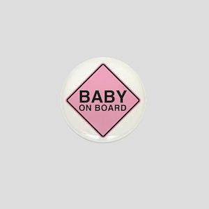 Baby on Board Mini Button