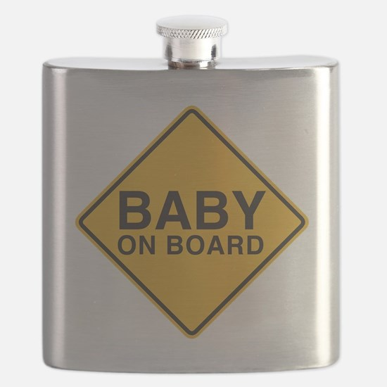 Baby on Board Flask