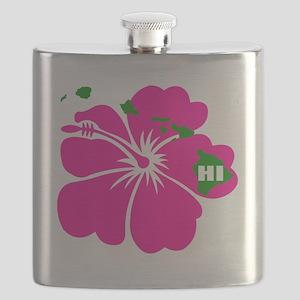 Hawaii Islands  Hibiscus Flask