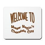 'Chocolate City' Mousepad